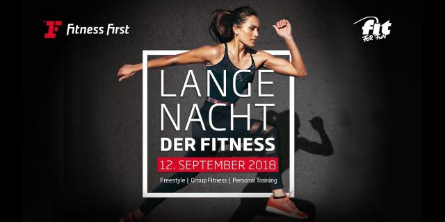 cardiocamp lange nacht der fitness fitness first. Black Bedroom Furniture Sets. Home Design Ideas